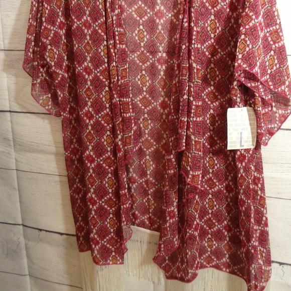 Lularoe Large Monroe Kimono